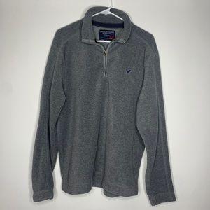 American Eagle Men's Half Zip Pullover size Large